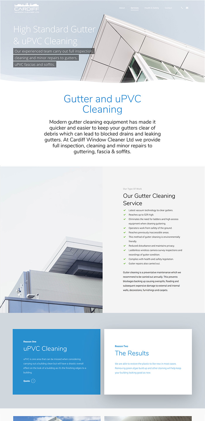 Cardiff window cleaning Gutter Cleaning