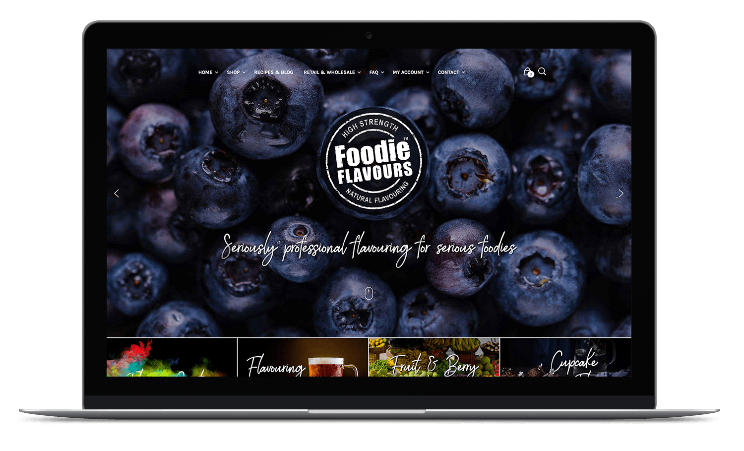 new foodie flavours website