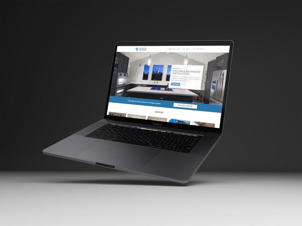 ashmere construction web design