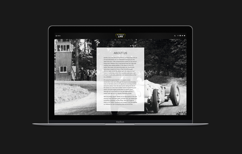 automotive web design