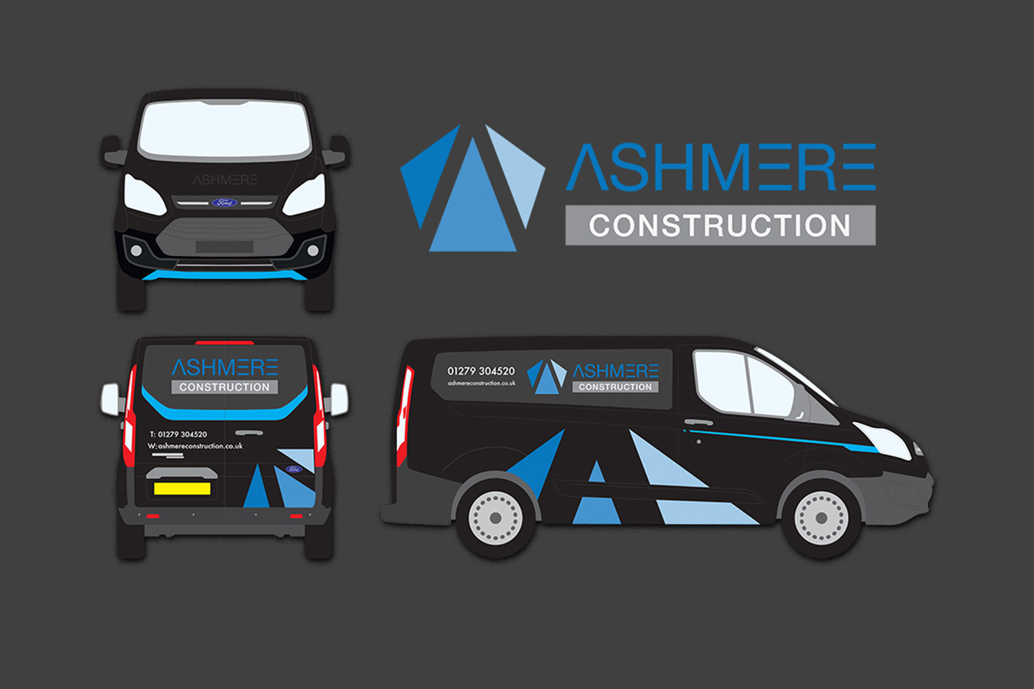 van signage for construction business