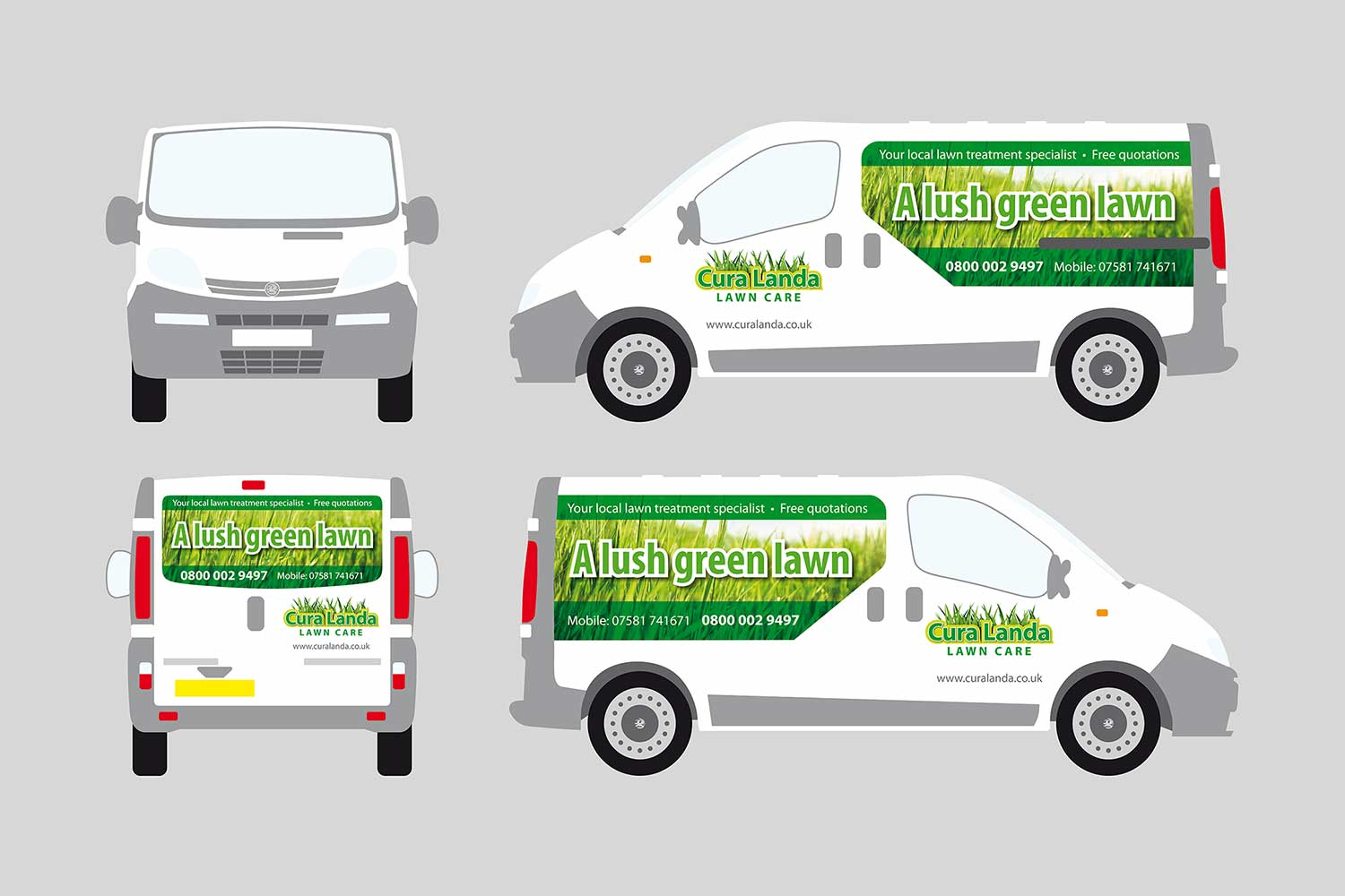 van signage design and application essex