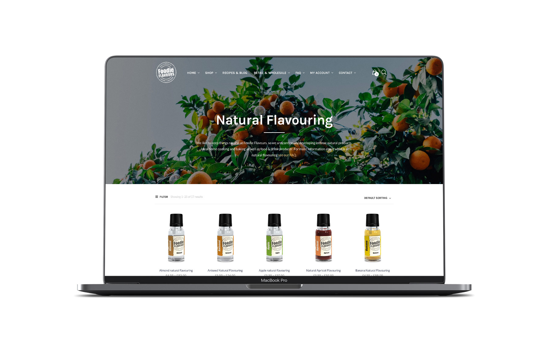 foodie flavours website